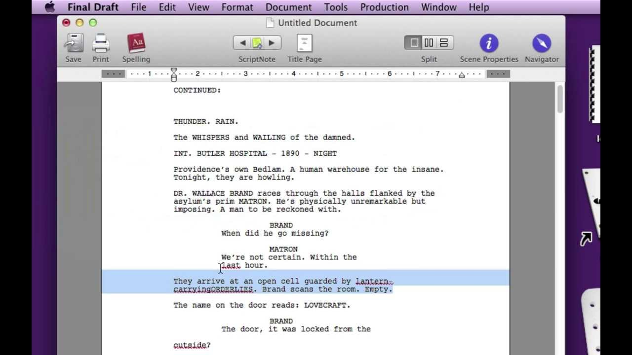 How to convert PDF to Final Draft (without Highland, using Reader)