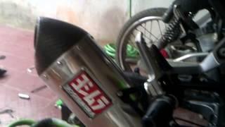 ninja 250 r (2 cylinder) 2013 with yoshimura USA muffler