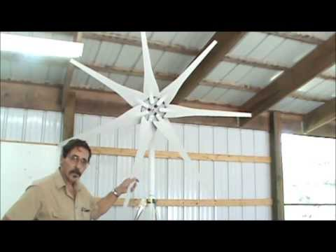Micro Wind turbines for the beginner How to part one by Missouri Wind and Solar