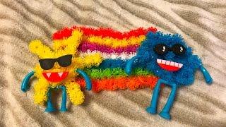 Rainbow, cloud, sun - bunchems for kids