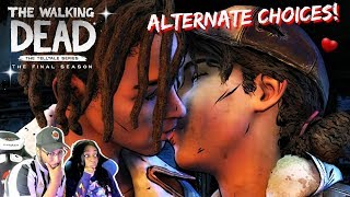 Louis's Time!!! | The Walking Dead Final Season Episode 2 ALTERNATE DECISIONS + Louis Love Scene