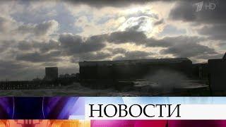 Основной удар стихии, которая сейчас бушует на юге страны, готовится принять Новороссийск.