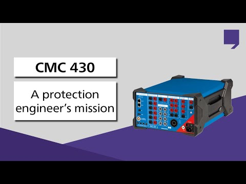 A protection engineer's mission – accomplished with the new CMC 430