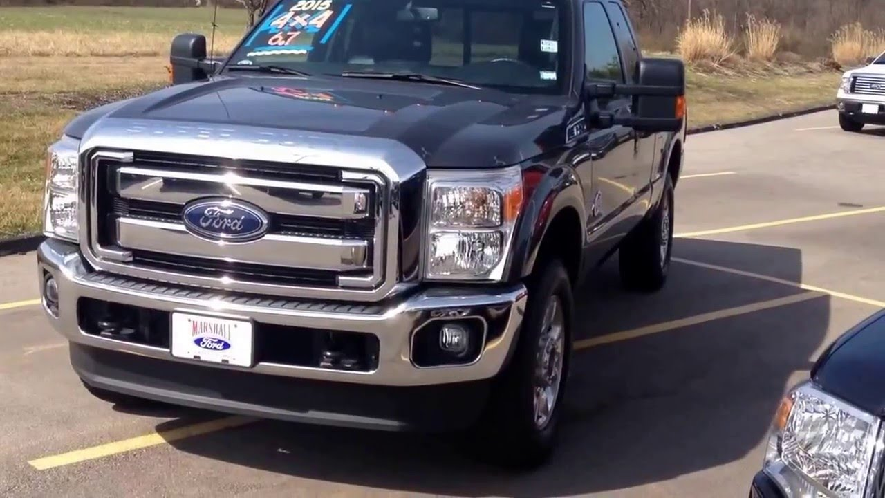 2015 ford f 250 lariat 4x4 used diesel pickup truck for sale youtube. Black Bedroom Furniture Sets. Home Design Ideas