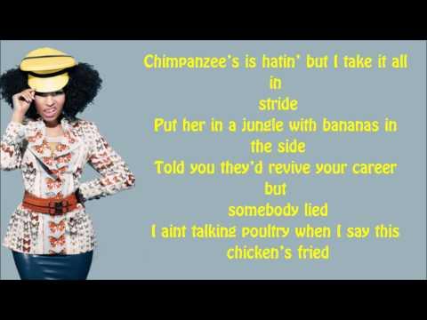 Nicki Minaj - Till The World Ends Verse Lyrics Video