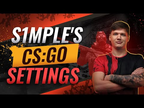 How To Get S1mple's CS:GO Settings