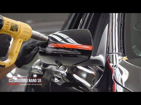 Mercedes Benz C63S AMG Edition 1 - ClearGuard Nano SR PPF Installation