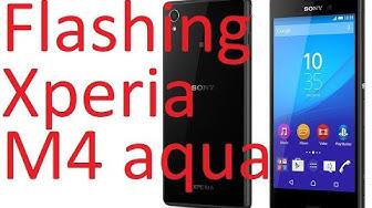 Flashing Xperia M4 Aqua E2353