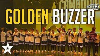 The Kings Score GOLDEN BUZZER on Cambodia