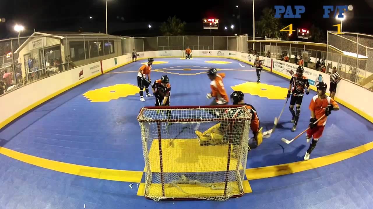 Dek Hockey - Firefox/Freestyle vs Physio Action + - 1er aout 2012