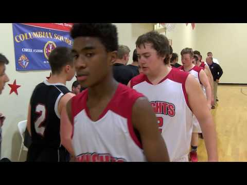 Mount Royal Academy Boys Basketball Hosts Lin-Wood