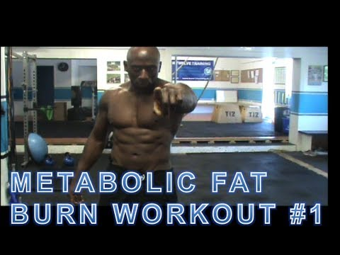 Burn Fat and Build Muscle - Metabolic Fat Burn Workout