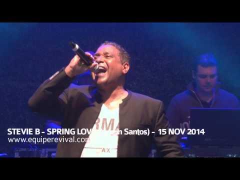 Stevie B - Spring Love (Live in Santos) 15 Nov 2014 - www.equiperevival.com.br