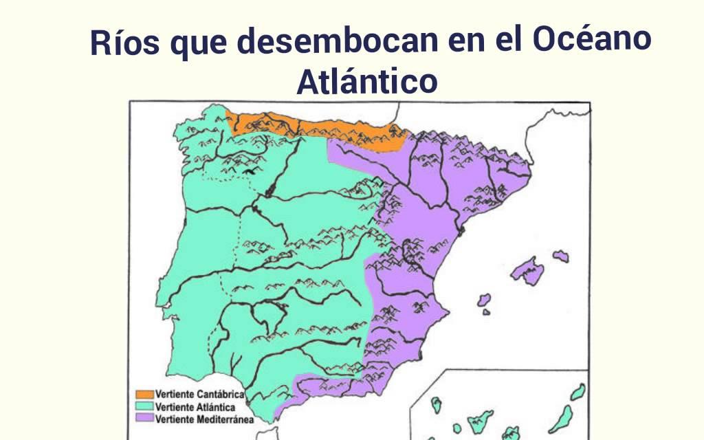 Mapa Rios De España 6 Primaria.Los Rios De Espana 3 Ep