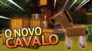 O NOVO CAVALO DO MINECRAFT 1.13 -Atualização Minecraft Snapshot 1.13 [Parte 3]