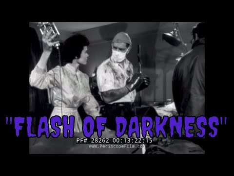 "MEDIC CIVIL DEFENSE TV SHOW ""FLASH OF DARKNESS"" 1955  28262"