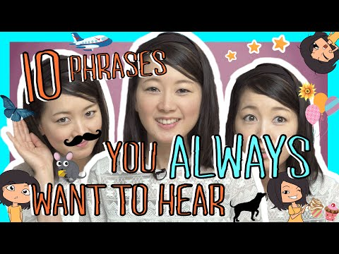 Learn 10 Japanese Phrases You Always Want to Hear (Việt Sub)