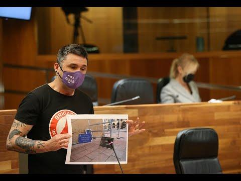 El ayto de Oviedo escupe sobre la memoria democrática. Exigimos la retirada d los nombres d asesinos