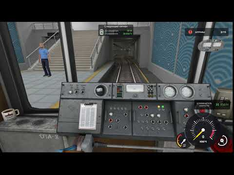 Будни машиниста в Subway Simulator 3D 5 ШТРАФОВ ЗА СМЕНУ! МАШИНИСТ ОТ БОГА!