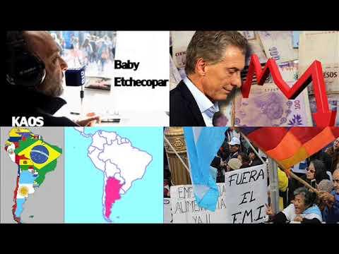 Baby Etchecopar - Siempre nos reímos de los demás países de Sudamérica y nosotros cómo estamos?