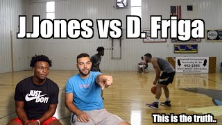 Reacting to OUR 1V1| J.Jones VS FRIGA ! | Here's the truth...