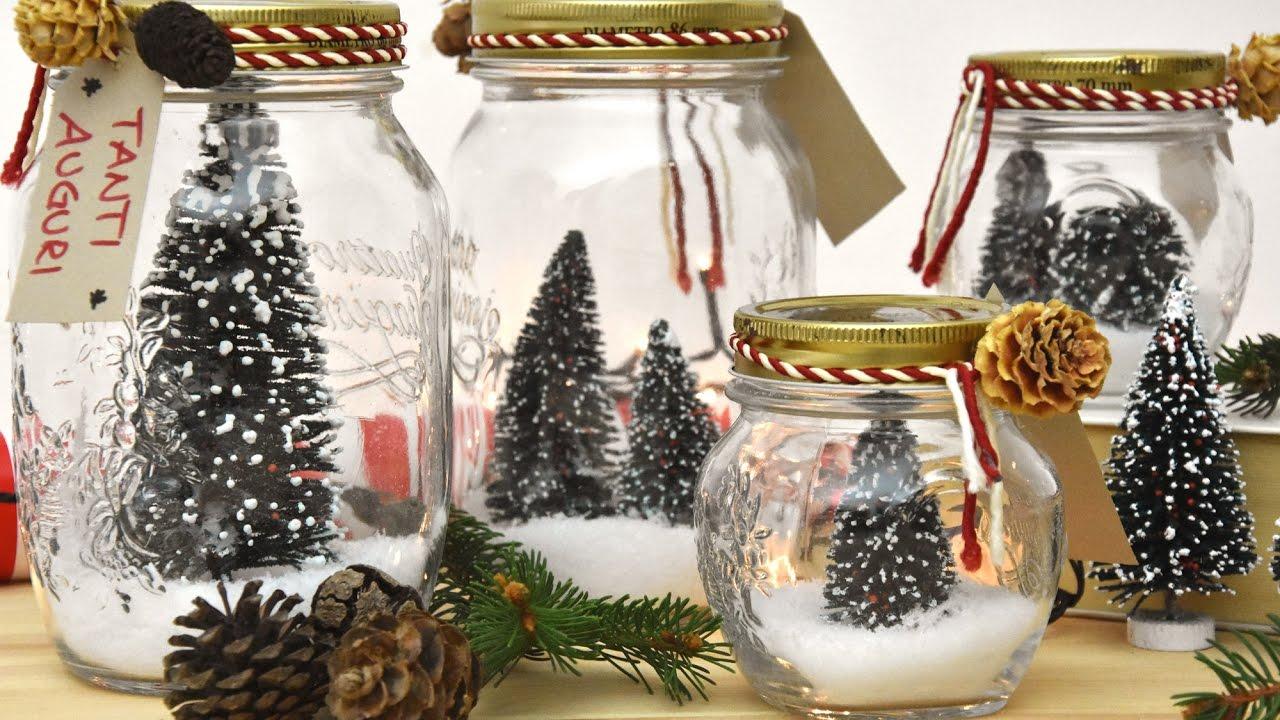 Natale in un barattolo decorazioni in casa per le feste for Decorazioni per feste