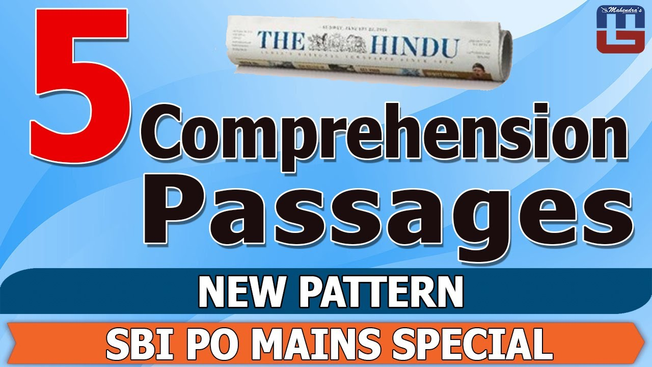 Important comprehension passage new pattern english sbi po important comprehension passage new pattern english sbi po mains special ibookread ePUb