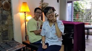 Ngày tinh khôi (cover) - Pé Heo ft. Nguyen Huyen Vu (keyboard & sequencer)