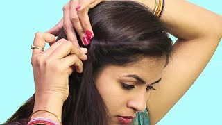 Easy Self Hairstyle ideas 2018 | Beautiful Hairstyle For Short Hair | Easy Hairstyle Tutorials 2018
