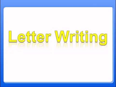 know the letter writing rules of formal letter writing english grammar class 8 youtube