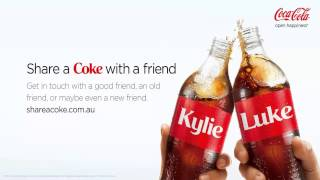 "Musique de Pub coca cola | ""Share a coke with friends"" 