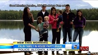 Sarah Palin and Family in Fight At Party in Alaska | Family in Fight At Party in Alaska | HD