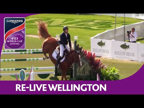Re-Live | Wellington | Longines FEI World Cup™ Jumping 2016/17 NAL | CP Welcome Stake
