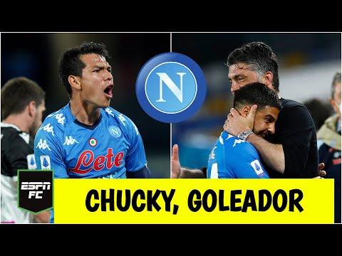 SERIE A Gol de Hirving Chucky Lozano afianza al Napoli en los puestos de Champions League | ESPN FC