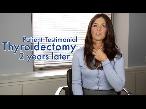 Surviving Thyroid Cancer: 1 Year Later (Patient Testimonial Update: Erica Ervin)