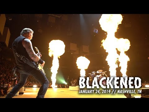Metallica: Blackened (Nashville, TN - January 24, 2019)