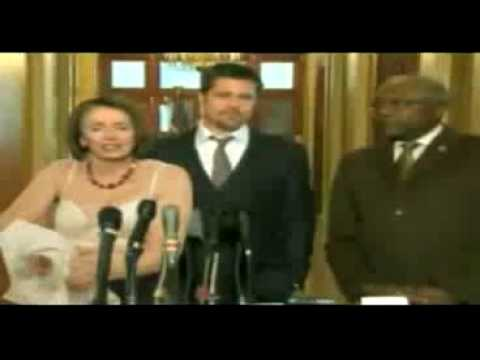 Nancy Pelosi Strips for Brad Pitt from YouTube · Duration:  49 seconds