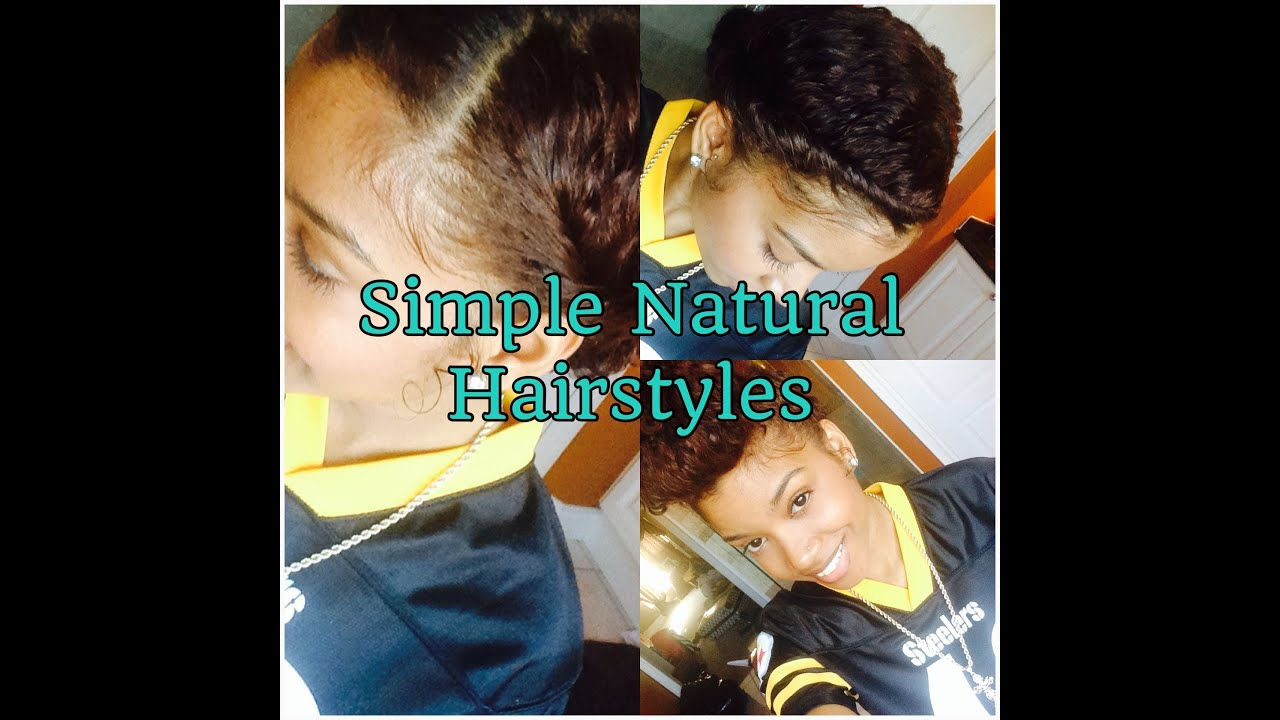Natural Hair 3B Easy Hairstyles on Old Wash & Go Hair