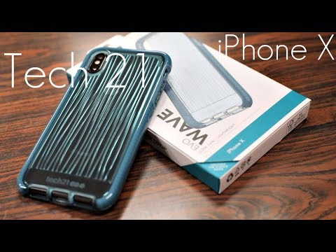 detailed look 70f65 ececc Tech21 Evo Waveeeeeeeeeeee Case - iPhone X - Hands On Look!