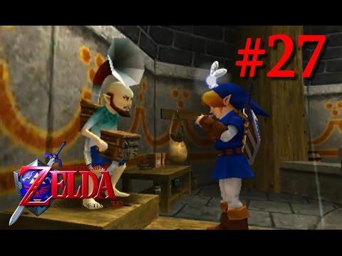 The Legend Of Zelda Ocarina Of Time 3D #27 - LE CHANT DES TEMPÊTES !