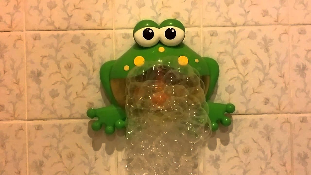 Elc bubble frog bath toy from Early Learning - YouTube