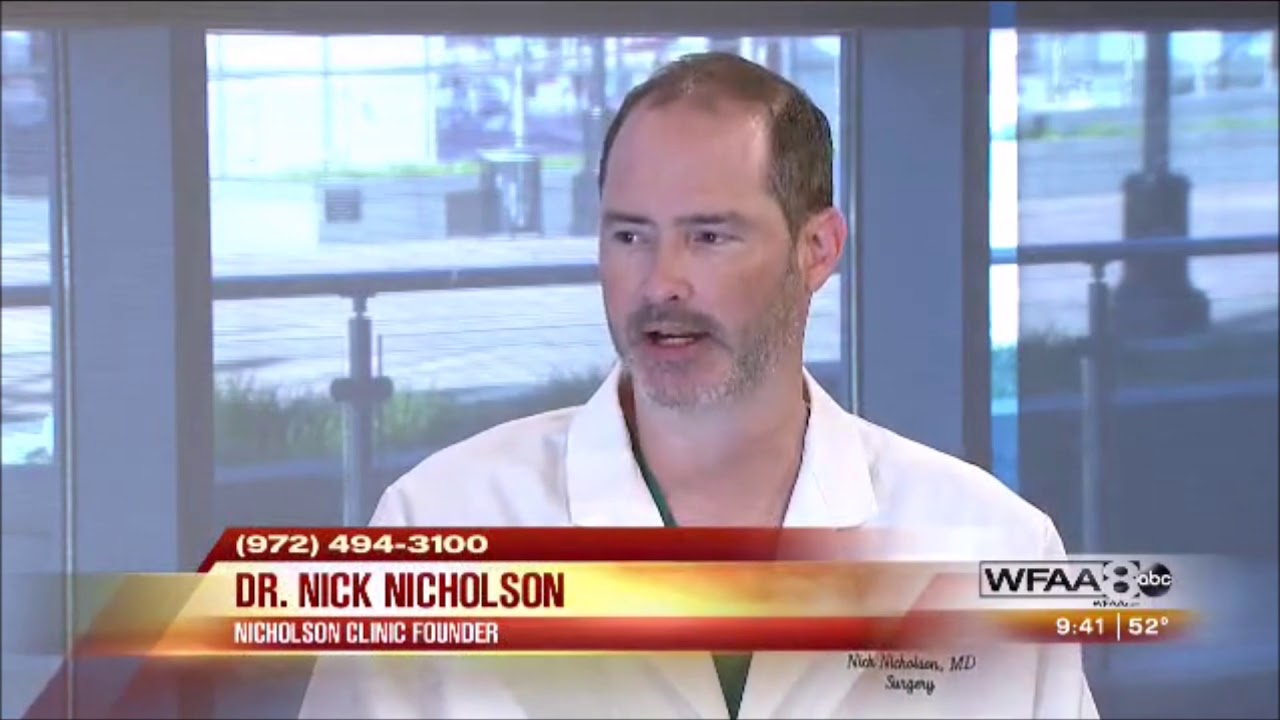 Dr. Nicholson discusses how weight loss surgery can cure Type 2 Diabetes.