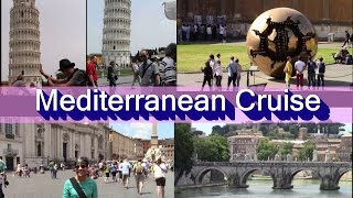 "NCL EPIC MEDITERRANEAN Cruise in May - NCL EPIC: port tour - ROME & more; ThePianoGuys - ""LET IT GO"""