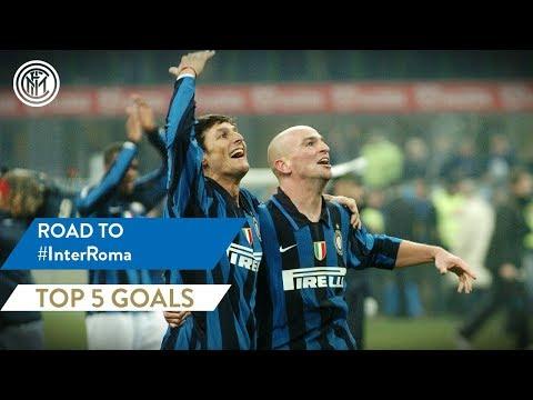 INTER vs ROMA | TOP 5 GOALS | Zanetti, Cambiasso, Sneijder and more...!