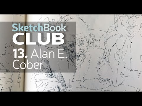 Sketchbook Club: Alan E. Cober