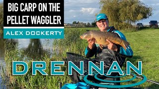Big Carp on the Pellet Waggler - Alex Dockerty