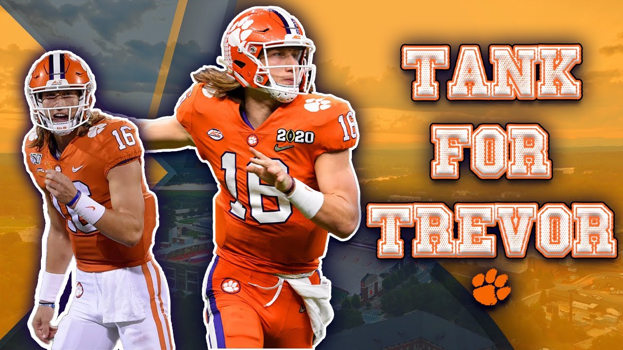 Trevor Lawrence: 'If It's the Last One, It's a Good One to Go Out On'