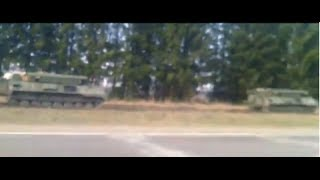 Russian military builds up near Ukrainian Border (Cholkhov, Bryansk Oblast)