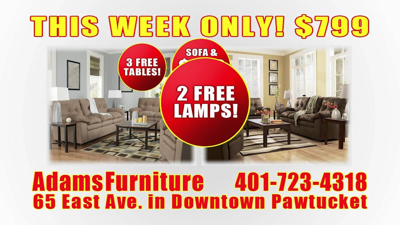 Adams Furniture Living Room Set 7 15sec