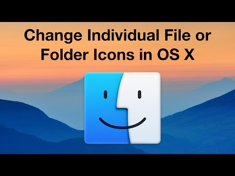 Change Individual File or Folder Icons in OS X [4K]